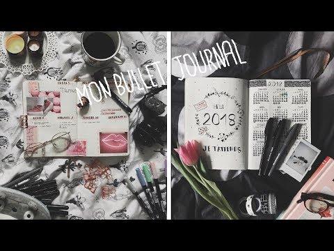 MON PREMIER BULLET JOURNAL ♡ PLAN WITH ME FEV-MAI 2018   Julinfinity