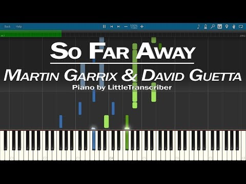 Martin Garrix & David Guetta - So Far Away (Piano Cover) by LittleTranscriber