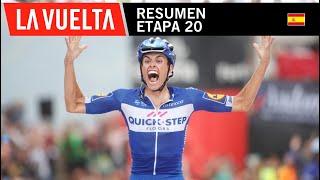 Resumen - Etapa 20 - La Vuelta 2018