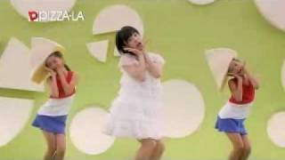 Buono! - 嗣永桃子(ももち)篇 Momoko Tsugunaga Ver. フランス産カマンベールと厳選4種ハムのピザ カマンダンス.