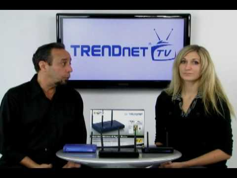 New to Networking: Intro to Wireless Networking (802.11n) TRENDnet TV