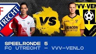 EDIVISIE | Poule A - FC Utrecht - VVV-Venlo