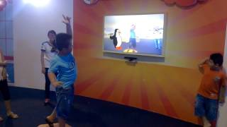 Dancing game using Kinect - Enfa A+ event