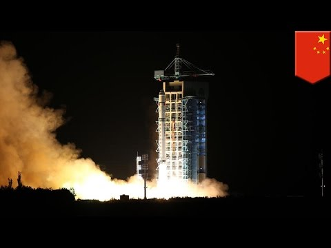 China launches world's first 'hack proof' quantum communications satellite - TomoNews