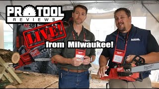 PTR Live! Ep 111 - Best New Milwaukee Tools from NPS 2018
