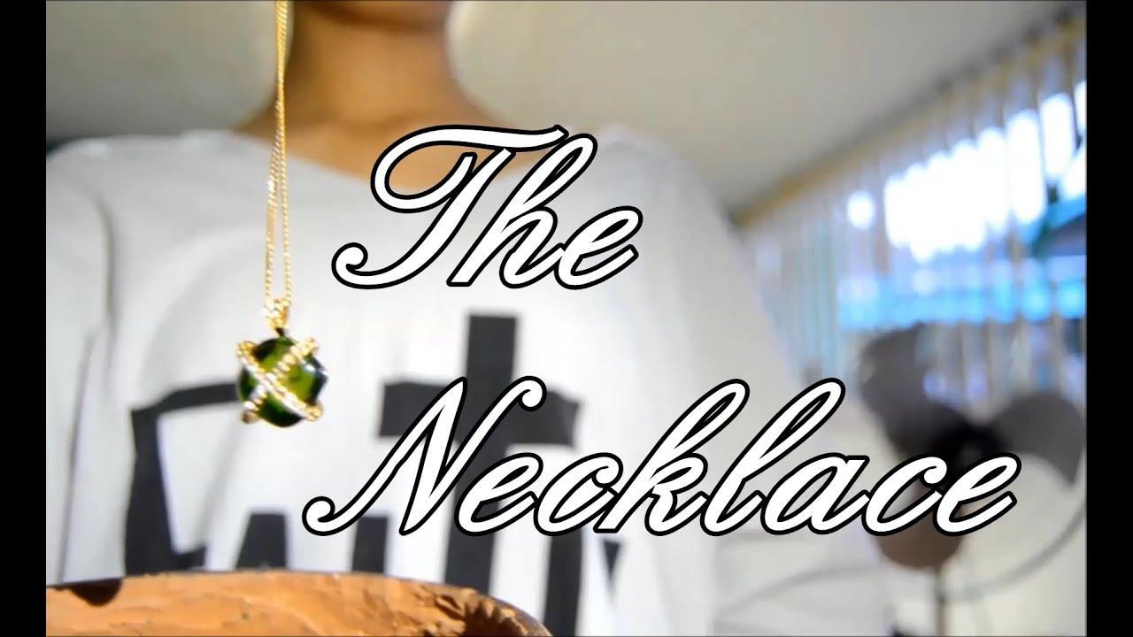"""essays on the short story the necklace In guy de maupassant's short story, """"the necklace"""", he develops a character, madame loisel the story of an hour and the necklace essay 2858 words 