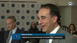 Gersson Rosas explains why Minnesota won't be 'Houston north'