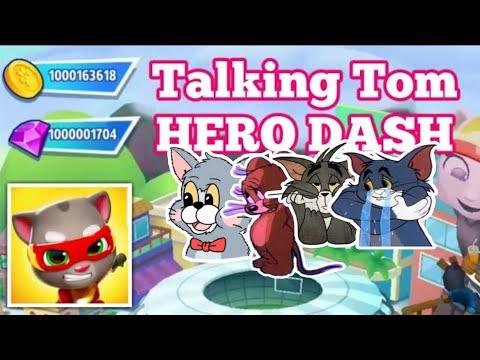 Talking Tom Hero Dash | UNLIMITED GEMS, COINS TICKETS