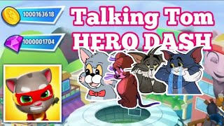 Talking Tom Hero Dash   UNLIMITED GEMS, COINS TICKETS