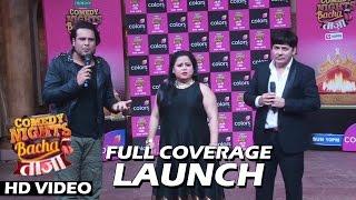 Comedy Nights Bachao Taaza New Season Launch   Full Video HD   Krushna, Sudesh, Bharti & More...