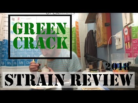 Green Crack Strain Review... California Legal Weed Review