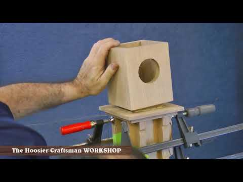 Woodworking Project 2003 : Arts & Crafts Furniture : Coat Rack / Clock