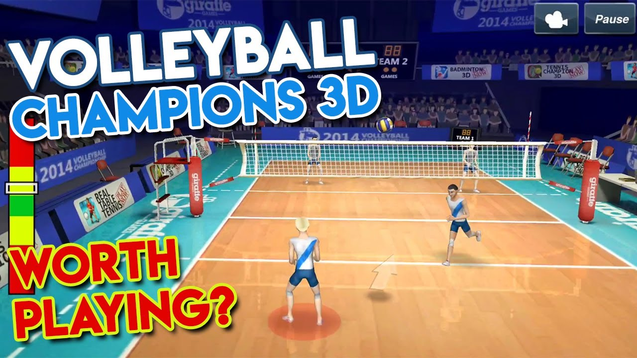 volleyball champions 3d first impressions android gameplay walkthrough youtube volleyball champions 3d first impressions android gameplay walkthrough