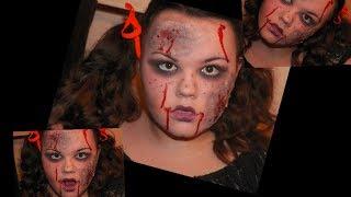Zombie makeup tutorial!!! Thumbnail