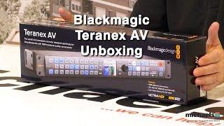 Blackmagic Teranex AV Unboxing & Connecting