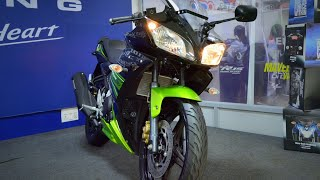 Yamaha R15S Review|| Black- Green Dual tone || ABS coming?? Price || Mileage