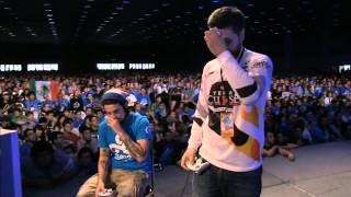 EVO 2014 Grand Finals - Super Smash Bros Melee - Mango (Fox) vs Hungrybox (Jigglypuff)