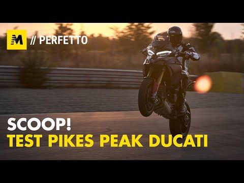 ESCLUSIVO! Abbiamo provato la Ducati Multistrada Pikes Peak V4: TEST in pista