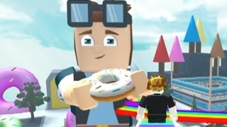 WE BUILT A DONUT FACTORY!!! The ROBLOX