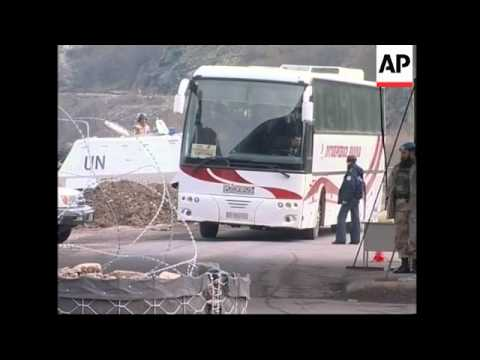 NATO and UN forces tighten security on border