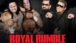 The Usos vs. The Miz & Damien Mizdow - Royal Rumble WWE 2K15 Simulation