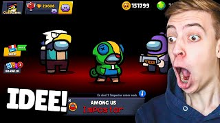 AMONG US MODUS in Brawl Stars! 😲 *REAKTION*