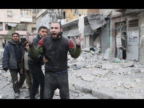 Syrian Regime barrel  bomb attack near Damascus- Daily Albawaba Headlines