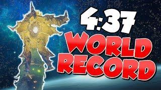 Xol Speedrun World Record! 4:37 Will of the Thousands [Destiny 2]