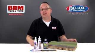 BRM tests...Ballast Glues from Deluxe Materials