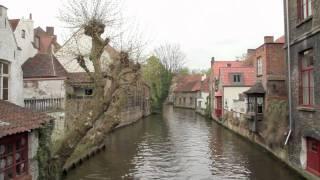 One day in Bruges, Belgium