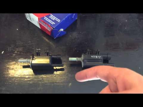 2008 GMC Yukon Denali 6.2L purge valve solenoid replacement. Code P0449