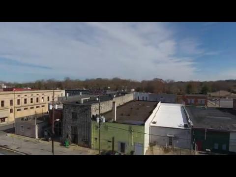 Cedartown, GA from above