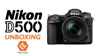 [Hindi] KameraMan: Nikon D500 Unboxing and Hands-On, 1st Video from India
