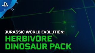 Jurassic World Evolution | Herbivore Dinosaur Pack Launch Trailer | PS4