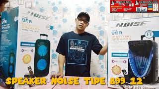 Speaker Portable NOISE 899 Original 12 inch review