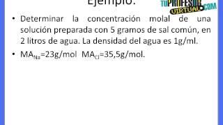 Video Molalidad (m) - Lección Teórica download MP3, 3GP, MP4, WEBM, AVI, FLV November 2018