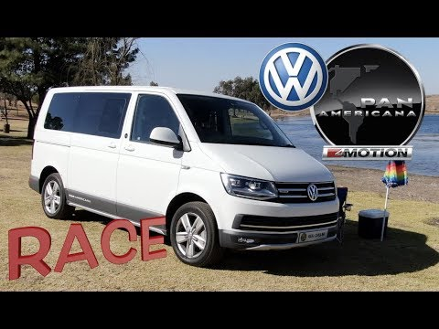 RACE - VW Caravelle Pan Americana vs Electric Boat