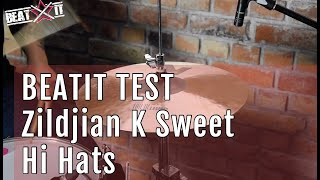 "BeatIt Test: 16"" Zildjian K Sweet Hi Hat"