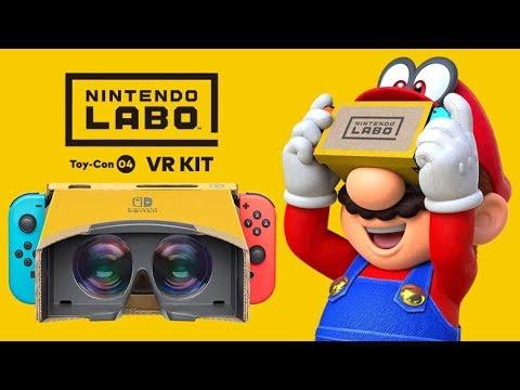 Nintendo introduce la realidad virtual a dos de sus videojuegos más populares de la consola Switch