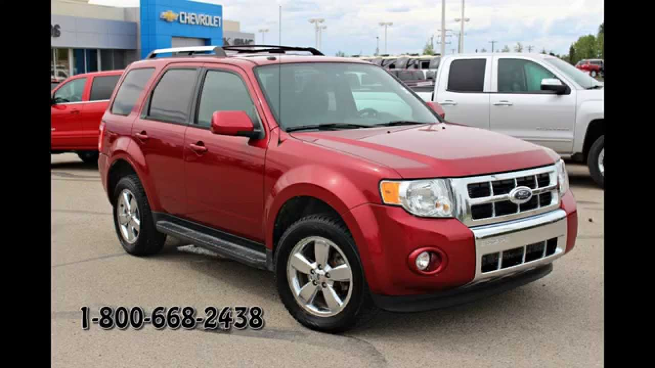 2009 Ford Escape Limited 4dr 4x4 in Review, Red Deer - YouTube