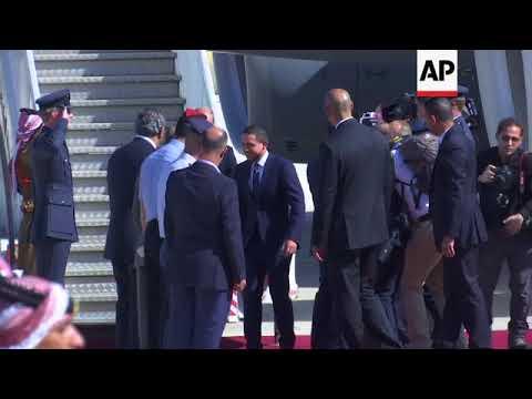 Duke of Cambridge received by Jordanian Crown Prince in Amman