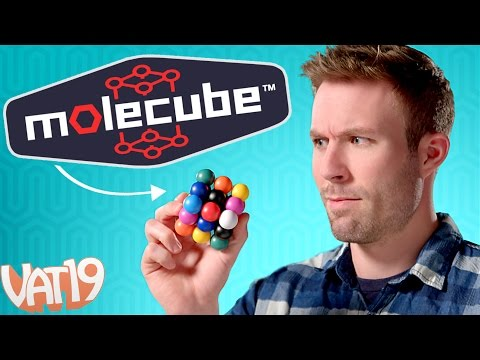 Molecube: The Colorful Sudoku Puzzle Cube