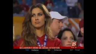 AJ McCarron's mom defends Katherine Webb
