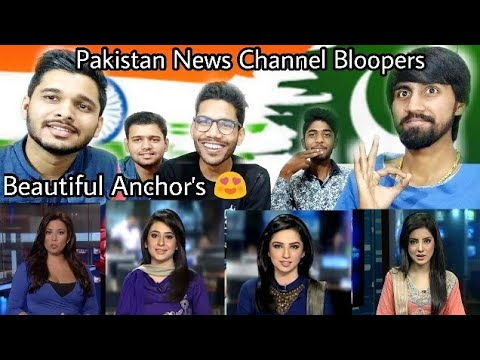 Pakistan Media Live Telecast Funny Bloopers | Reaction By M Bros.