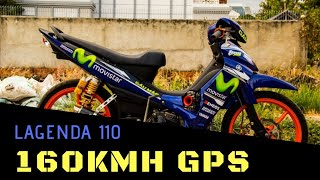 #5 - YAMAHA Lagenda 110 Top Speed GPS 160kmh