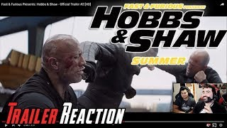 F&F Presents: Hobbs & Shaw - Angry Trailer Reaction!