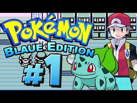 POKÉMON BLAU # 01 ★ Ich Will Der Allerbeste Sein! [HD   60fps] Let's Play Pokémon Blau