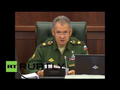 "Russia: ""Foreign military presence on Ukraine-Russia border has increased"" - Defence Minister Shoigu"