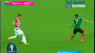 Croacia 1 Mexico 3 Mundial 2014 Grupo A 23-6-14