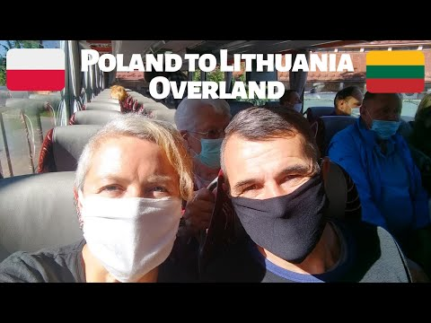 Poland to Lithuania by Bus | First Border Crossing in Europe after lockdown